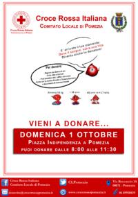 Volantino Donazione Sangue_Pomezia_1_Ottobre